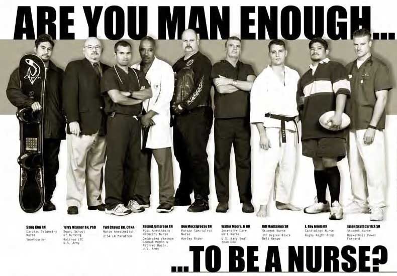 history of male nurse