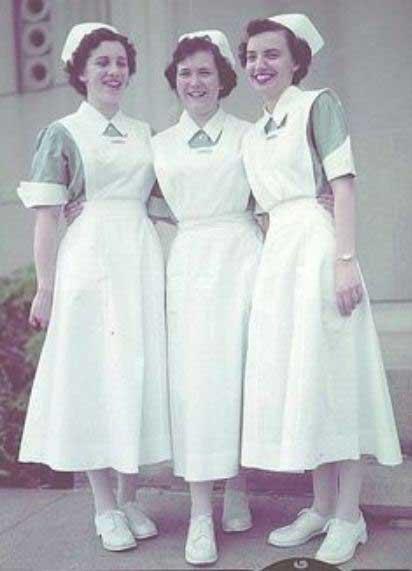 Nurse Uniform Of 1940