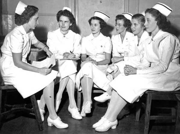 Nurse Uniform Of 1950
