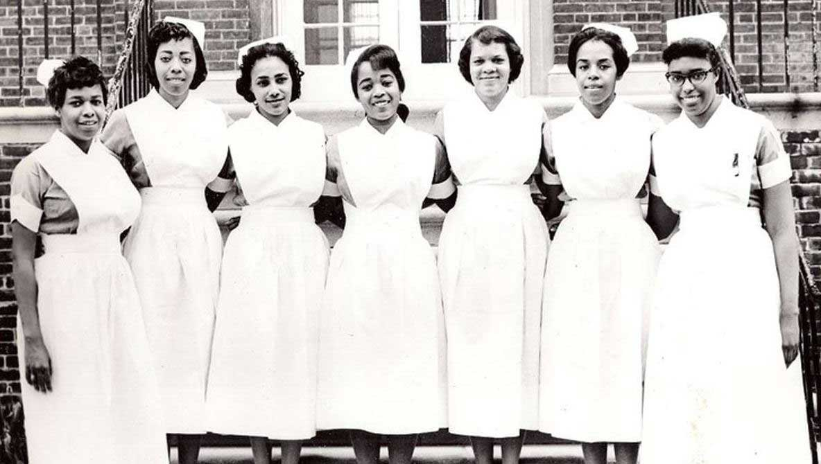 Nurse Uniform Of 1960