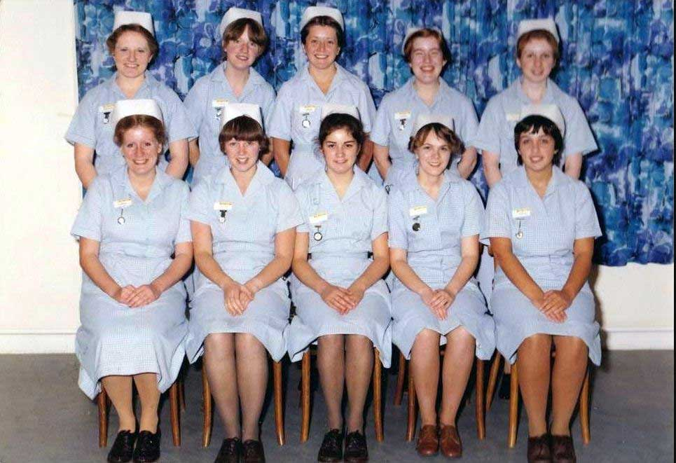 Nurse Uniform Of 1980