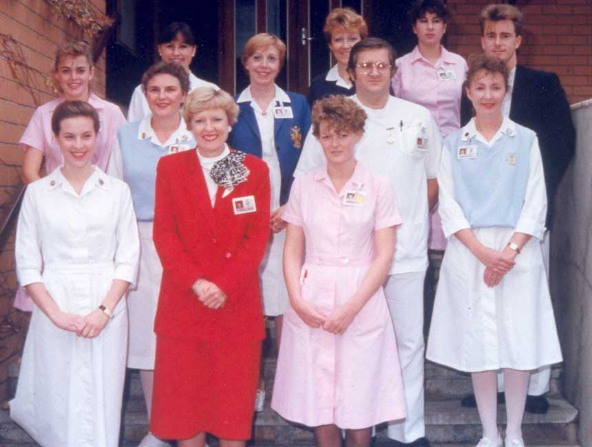 Nurse Uniform Of 1990