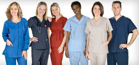 Nursing uniform dress code