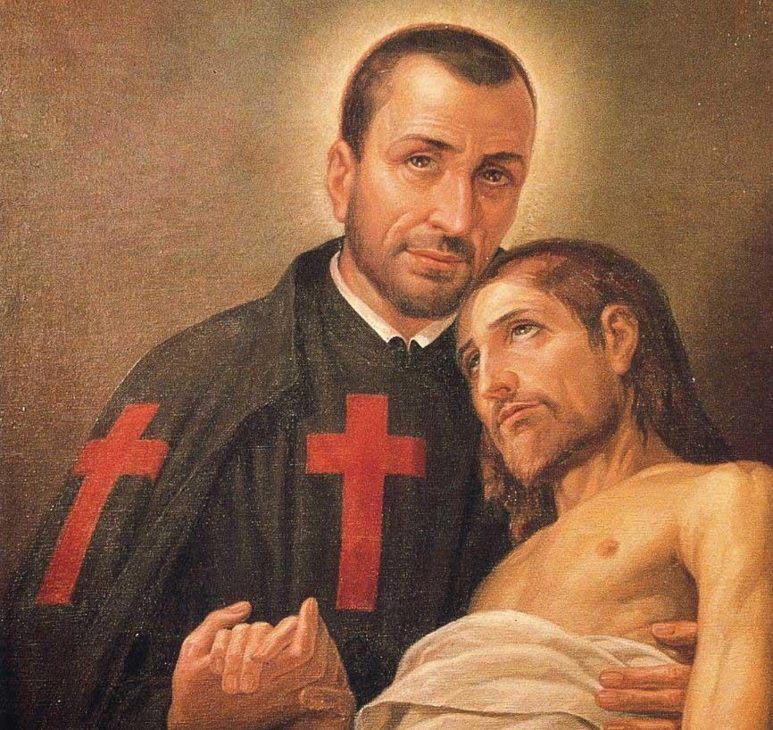 St Camillus de Lellis nurse