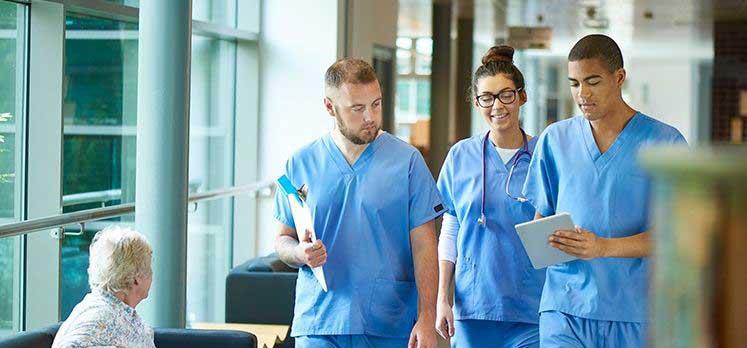 Nurses wear uniform