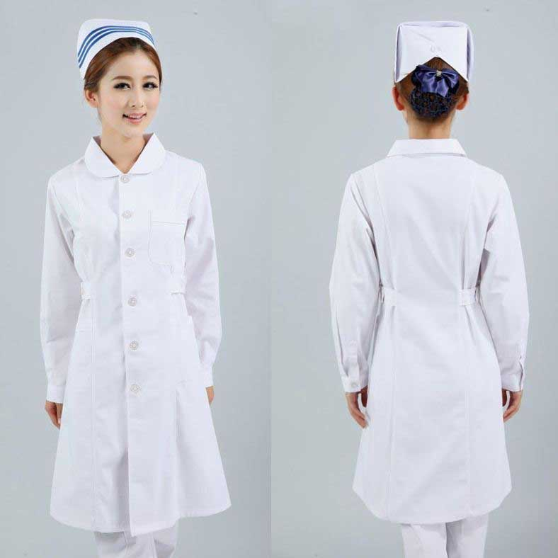 White uniform for nurses