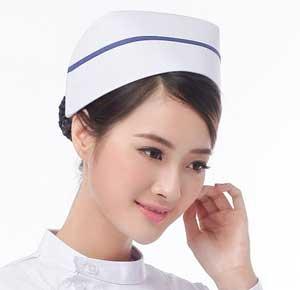 why did wear nurses caps