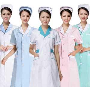 different types of nurses uniforms