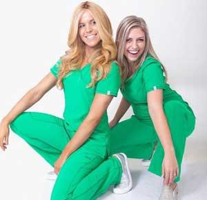 fit nursing scrubs