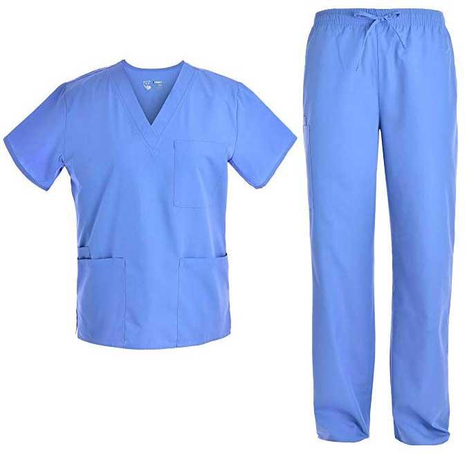 unisex nursing scrubs