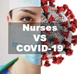how nurses serve the patient with coronavirus