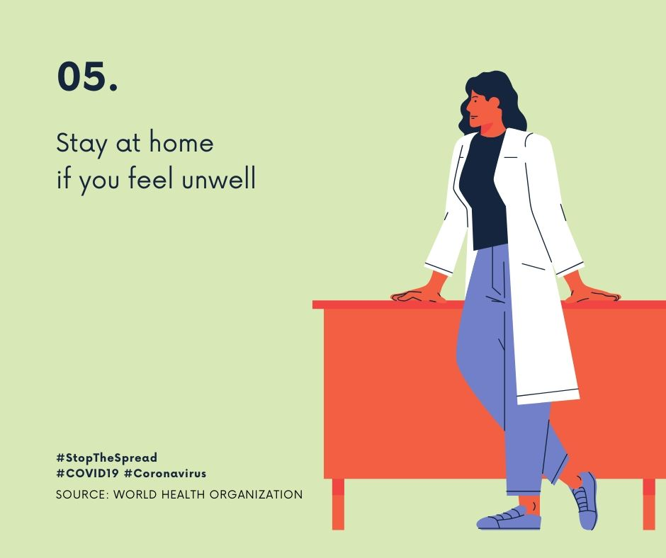 Stay at Home for coronavirus