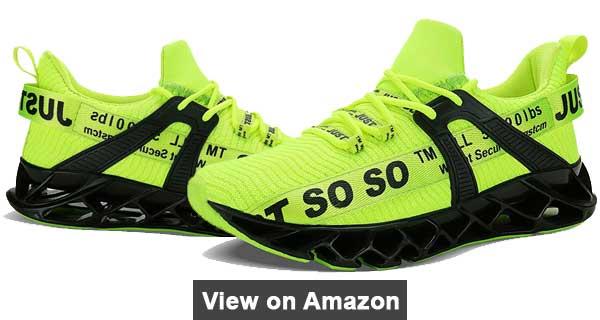 UMYOGO Men's Athletic Walking Blade Running Tennis Shoes Review