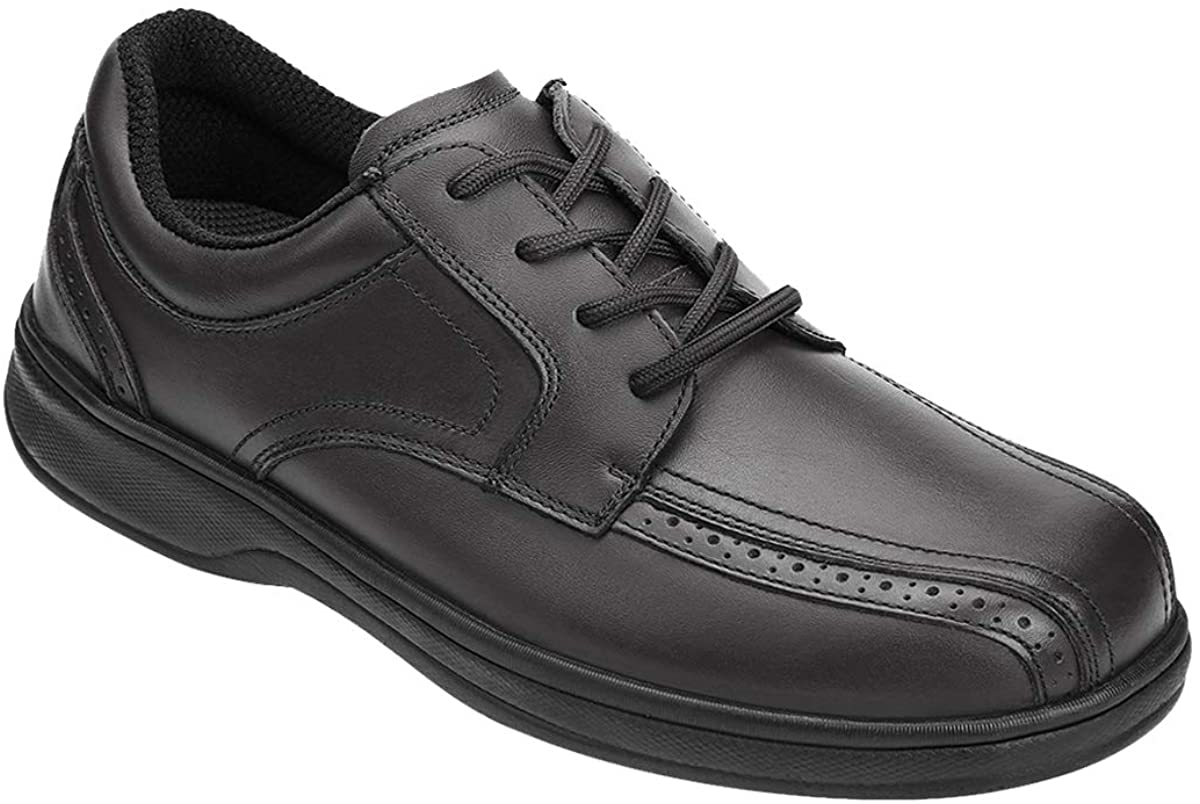 Orthofeet Gramercy Proven Diabetic Mens Oxford Shoes review