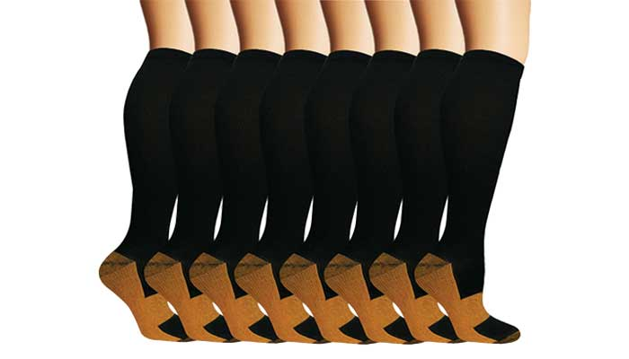 NEW YOUNG Medical Copper Socks review