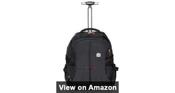 SKYMOVE 19 inches Wheeled Rolling Backpack Review
