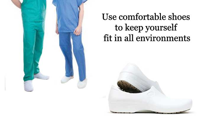 How to choose comfortable nursing school shoes