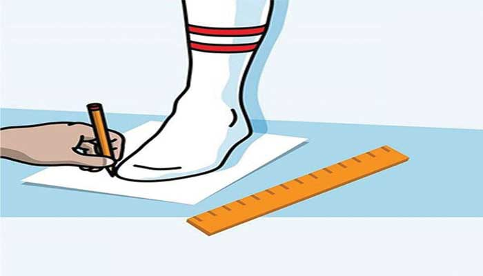 Measurement of your Feet
