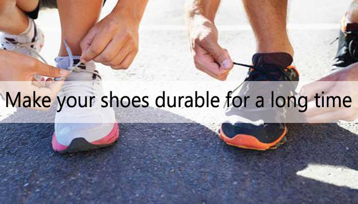 The best way to lengthen shoes.
