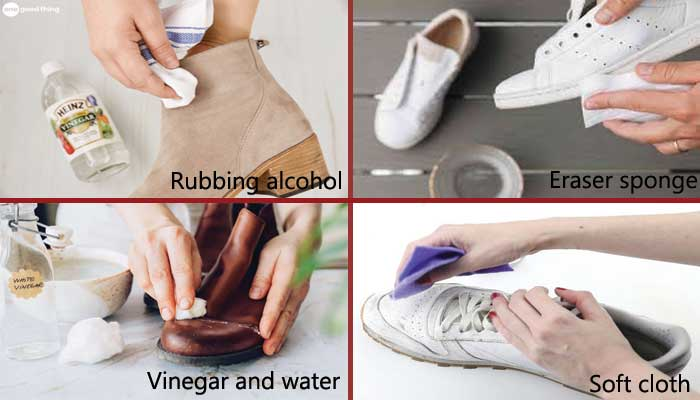All the best method of shoes cleaning