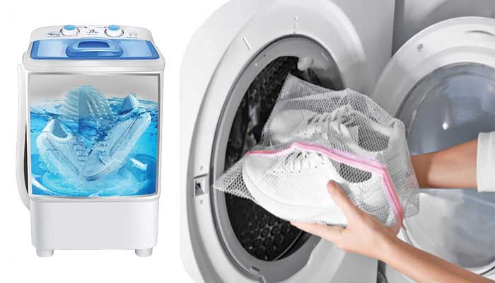 How to remove smelly using a washing machine?