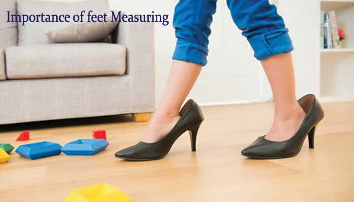 The importance of measuring feet for proper shoes
