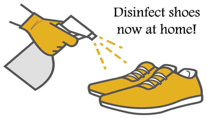 How to disinfect your shoes effectively
