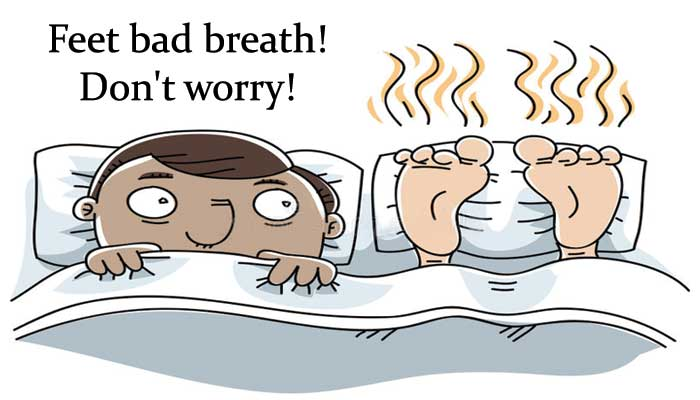 How to get rid of smelly feet in winter