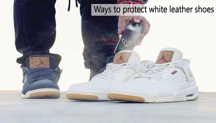 How to Protect White Leather Shoes