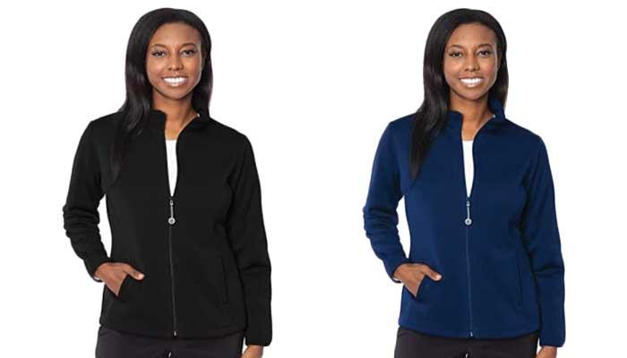 Med Couture Fleece Jacket for Women