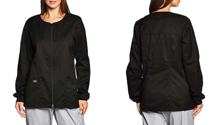 Cherokee Women's Workwear Scrubs Jacket