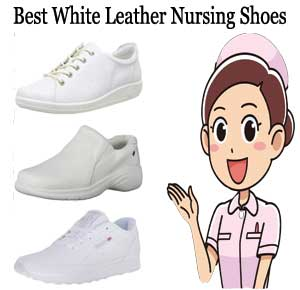 Best White Leather Nursing Shoes Reviews