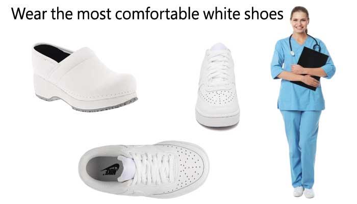 Most Comfortable White Nursing Shoes